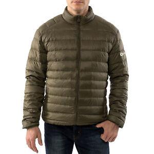 Alpine-Swiss-Men-039-s-Down-Jacket-Puffer-Coat-Packable-amp-Light-Green-2XL