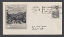 US Mel 765-2 FDC.1935 10c imperf Great Smoky Mountain National Park, Ioor cachet