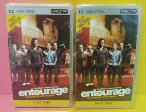 Brand-NEW-Playstation-Portable-PSP-UMD-Entourage-First-Season-One-1-Disk-1-2-Two