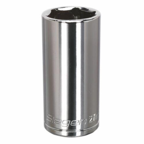 "Siegen S0681 WallDrive® Socket 27mm Deep 1//2/""Sq Drive"