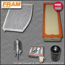 SERVICE KIT VW GOLF MK6 2.0 GTI CCZB OIL AIR FUEL CABIN FILTER PLUGS (2009-2013)