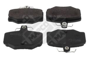 Bremsbelagsatz Scheibenbremse MAPCO 6586 hinten für NISSAN
