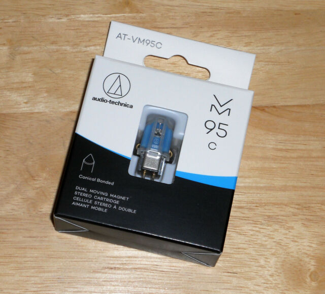 Audio Technica AT-VM95C Phono Cartridge for turntable Half-inch Mount
