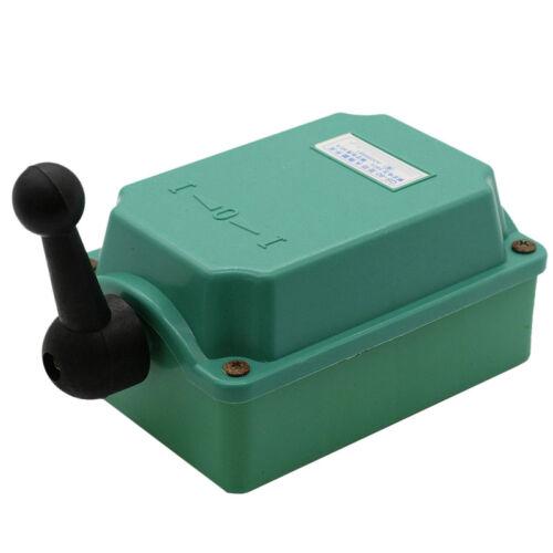 60 A Drum Switch Forward//Off//Reverse Motor Control Rain-Proof Reversin KUK