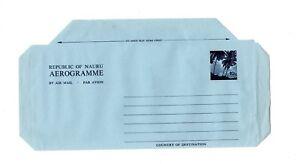Nauru-10c-Aerogramme-un-used