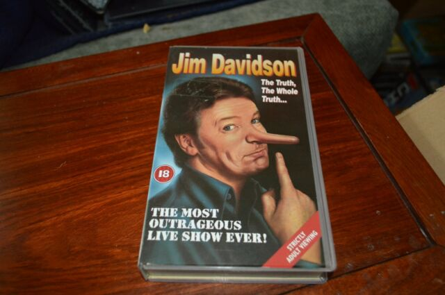 Jim Davidson - Live - The Truth, The Whole Truth (VHS, 1993)