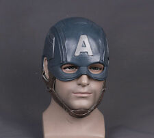 The Avengers Captain America Steven Cosplay Helmet FRP Hard Mask Christmas Props