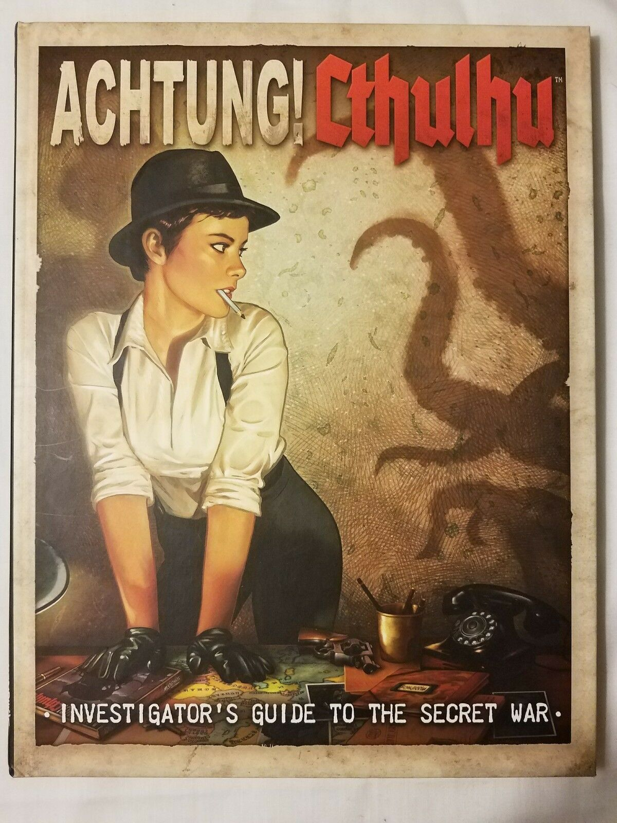 BRANDNEW ACHTUNG  CTHULHU INVESTIGATOR'S GUIDE GUIDE GUIDE to the SECRET WAR Call of RPG bca33e