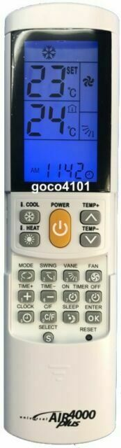 REPLACEMENT PANASONIC AIR CONDITIONER REMOTE CONTROL A75C2189 now SUBSTITUTED
