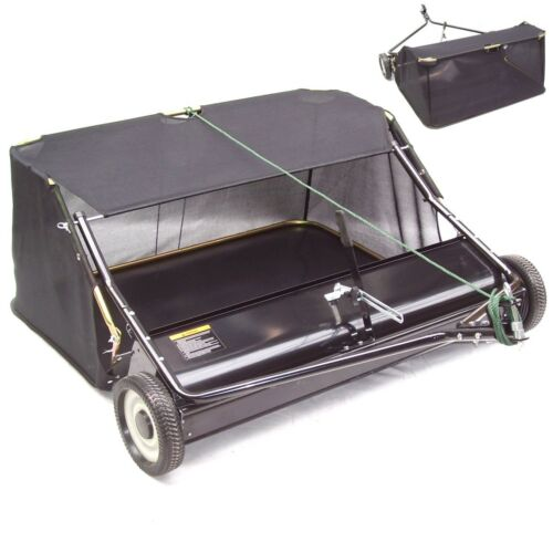 55141 Kehrmaschine 120cm Rasenkehrer Rasenkehrmaschine Aufsitzmäher Rasentraktor
