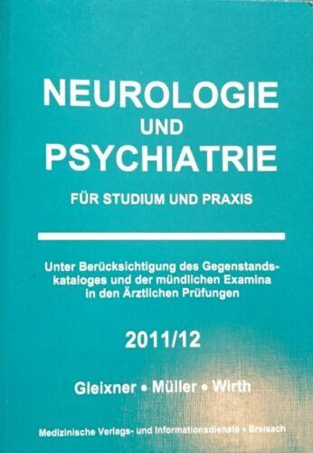 1 von 1 - Neurologie und Psychiatrie von 2011/2012 mit Taschenkarte (Gleixner)