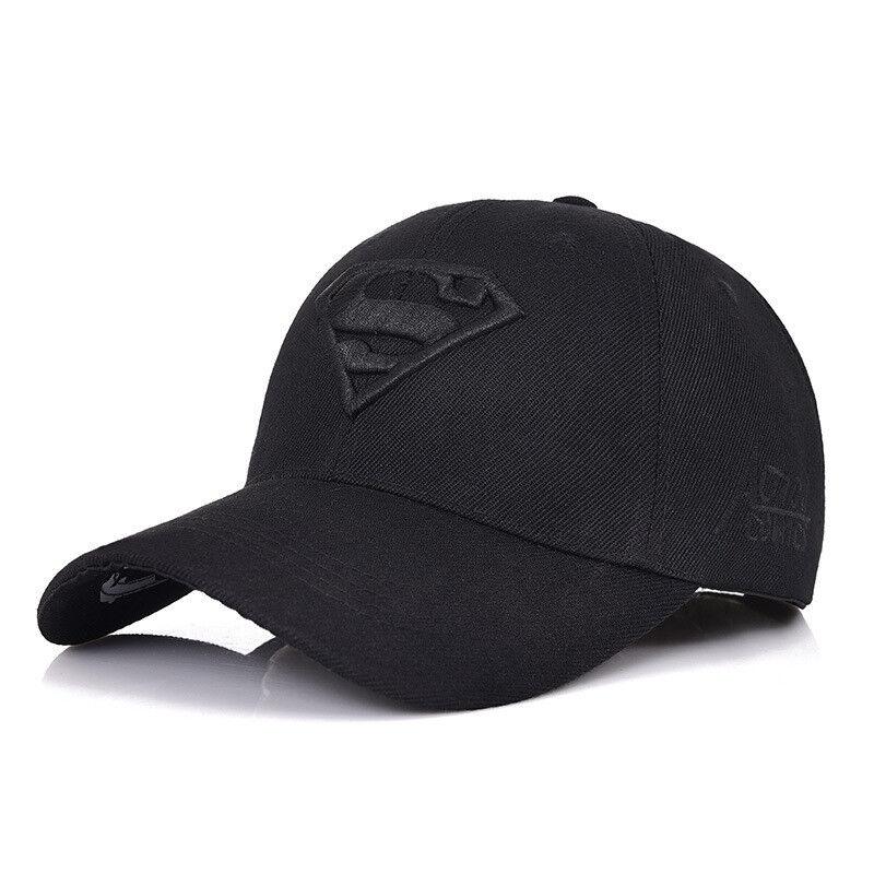 fe13888c Details about Superman Baseball Cap Outdoor Sunscreen Cap Wild Leisure  Visor Sun Hat women men