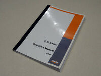 Case 1170 Tractor Operators Manual Owners Maintenance Book