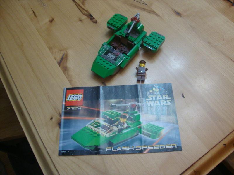 LEGO LEGO LEGO STAR WARS 7124 FLASH SPEEDER  100%COMPLETE 900df2