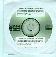 (DA5) Gaoler's Daughter, How Do You Know - 2012 DJ CD