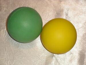 Moosgummiball-im-2er-Set-6-cm-60-gr-Jonglierball-NEU