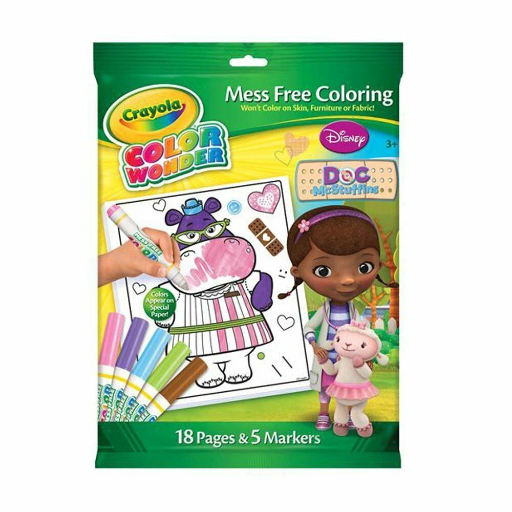 Crayola Color Wonder Doc Mcstuffins Disney lío gratis colorante ...
