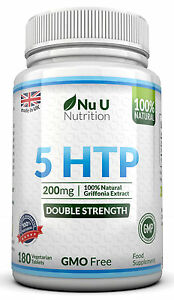 5HTP-200mg-180-Tablets-by-NU-U-UK-Manufactured-100-Money-Back-Guarantee
