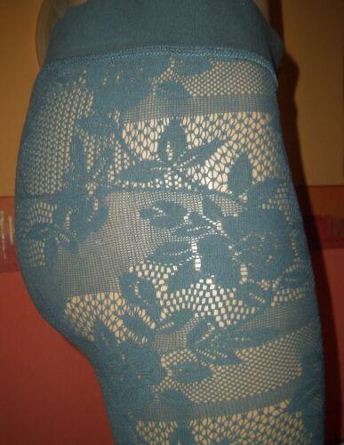 S//M Legging Leggins NEU Tolle Spitzen Caprileggings Spitzen Leggings grau Gr