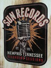 "Oldschool ""Sun Records Micro"" Mephis Sticker Rock'n'Roll Rockabilly Decal USA"