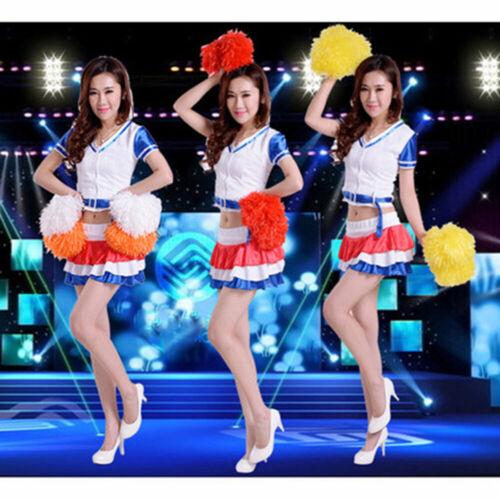 Hot Cheerleader pompoms Club Sport Supplies Cheerleading Cheering Ball Decorator