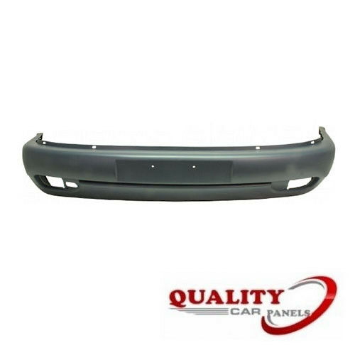 FRONT BUMPER WITH FOG LAMP HOLE SMOOTH BLACK TRANSPORTER T4 1997-2004 LONG NOSE