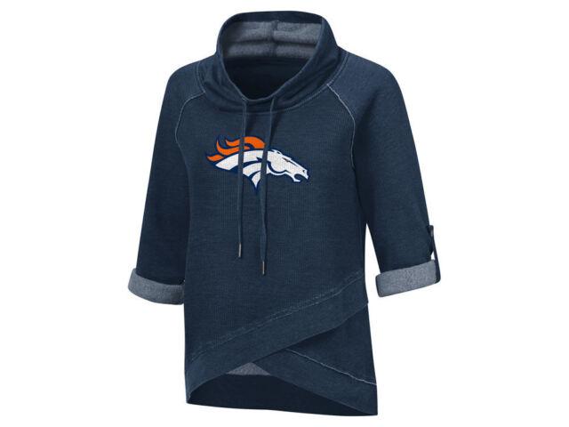 Denver Broncos Touch NFL Womens Wildcard Hooded Sweatshirt 927977 ... b43125a36