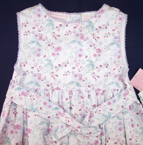 NWT First Impressions Girl/'s 3 Pc 3-6M Pink Floral Dress Set 6-9M or 18M $32