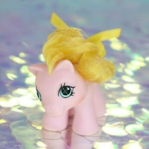 Vintage-My-Little-Pony-Newborn-Baby-Twin-NIBBLES-Dibbles-Swan-G1-MLP-BC916