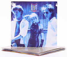 """Lot of 7 New Wave / Dance / Pop 7"""" singles 1980s Picture Sleeves"""