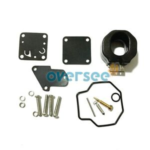 Details about Carburetor Repair Kit 6E0-W0093-00-00 for YAMAHA 4HP 5HP  Outboard Engine Parts