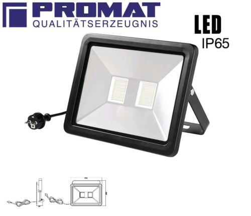 PROMAT LED Wand Strahler 80W 6400Lm 6000K IP65-30.000 Stunden Lebensdauer !