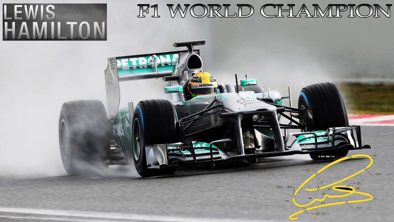 Lewis Hamilton Formula 1 F1 44 Motor T-shirt Baseball Vest Men Women Unisex 2680
