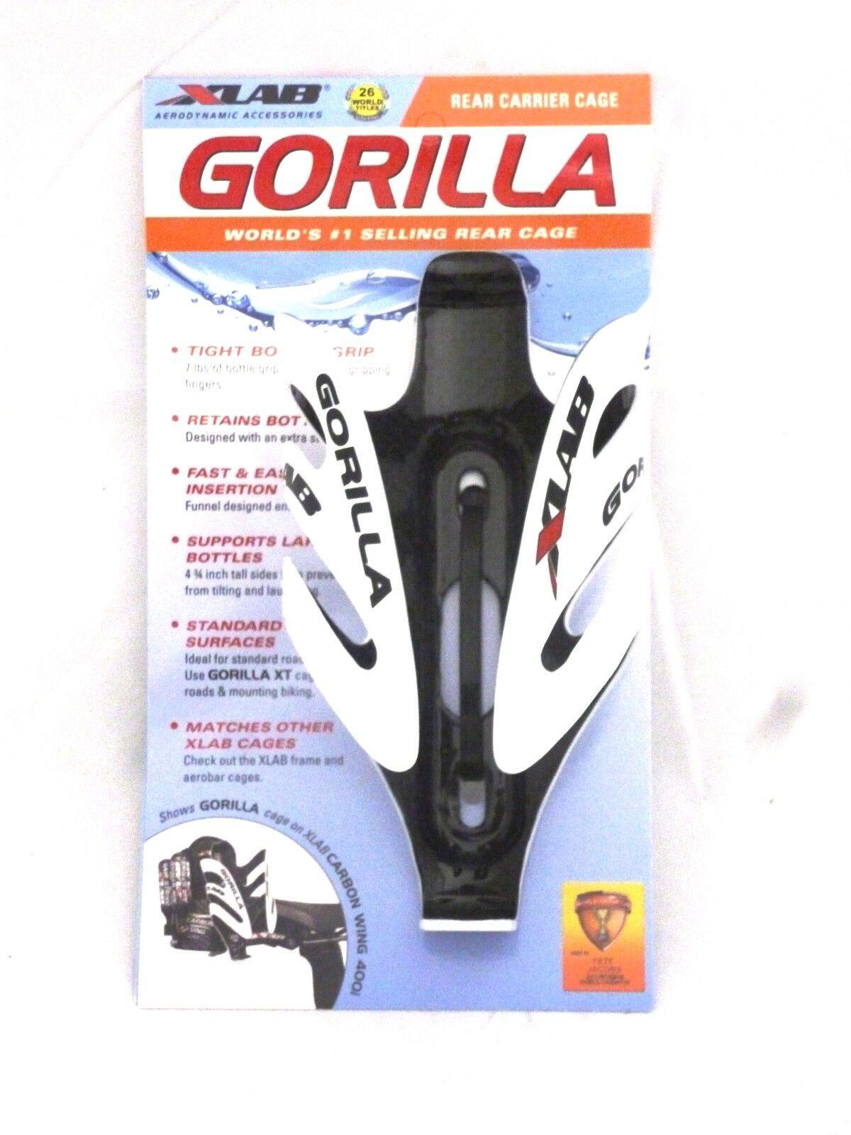 XLab Gorilla Carbon Cage bianca Xlab Gorilla Cage
