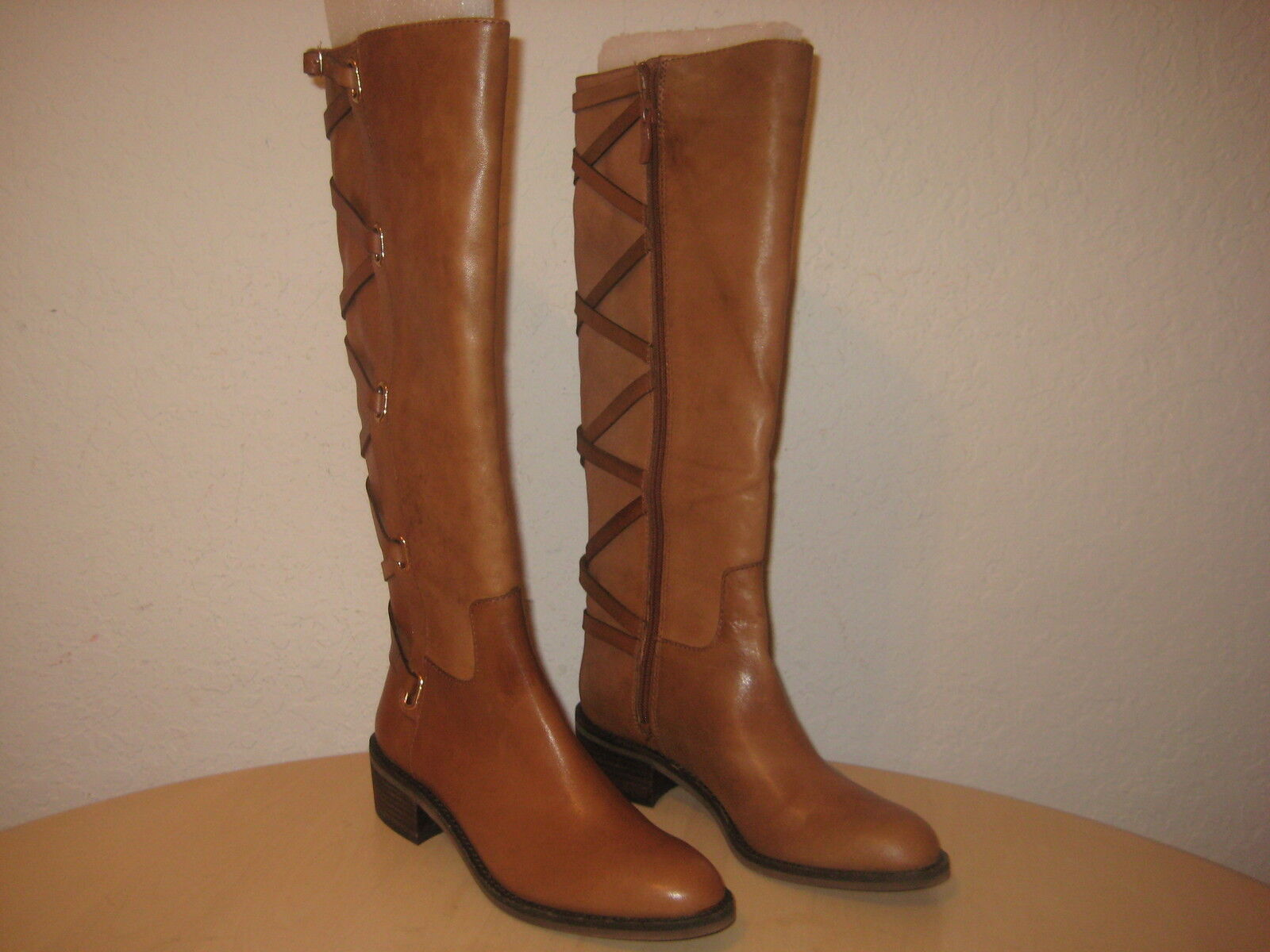 BCBG BCBGeneration shoes Size 5.5 M Womens New Janiss Light Brown Leather Boots