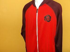 D. Rose Adidas logo Full Zip Track Jacket Size Men s 2XL nwt Free ... e1ca293220b0