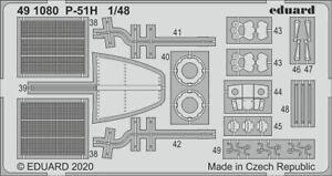 Eduard-Accessories-491080-1-48-P-51H-for-Modelsvit-New