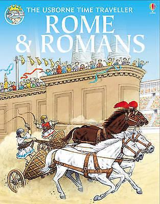 1 of 1 - Rome and Romans (Usborne Time Traveller), Civardi, Anne, Vanags, Patricia, Amery