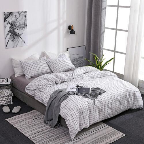 Urban Printed Soft Duvet Quilt Cover/&Pillowcase Twin Queen King Size Bedding Set