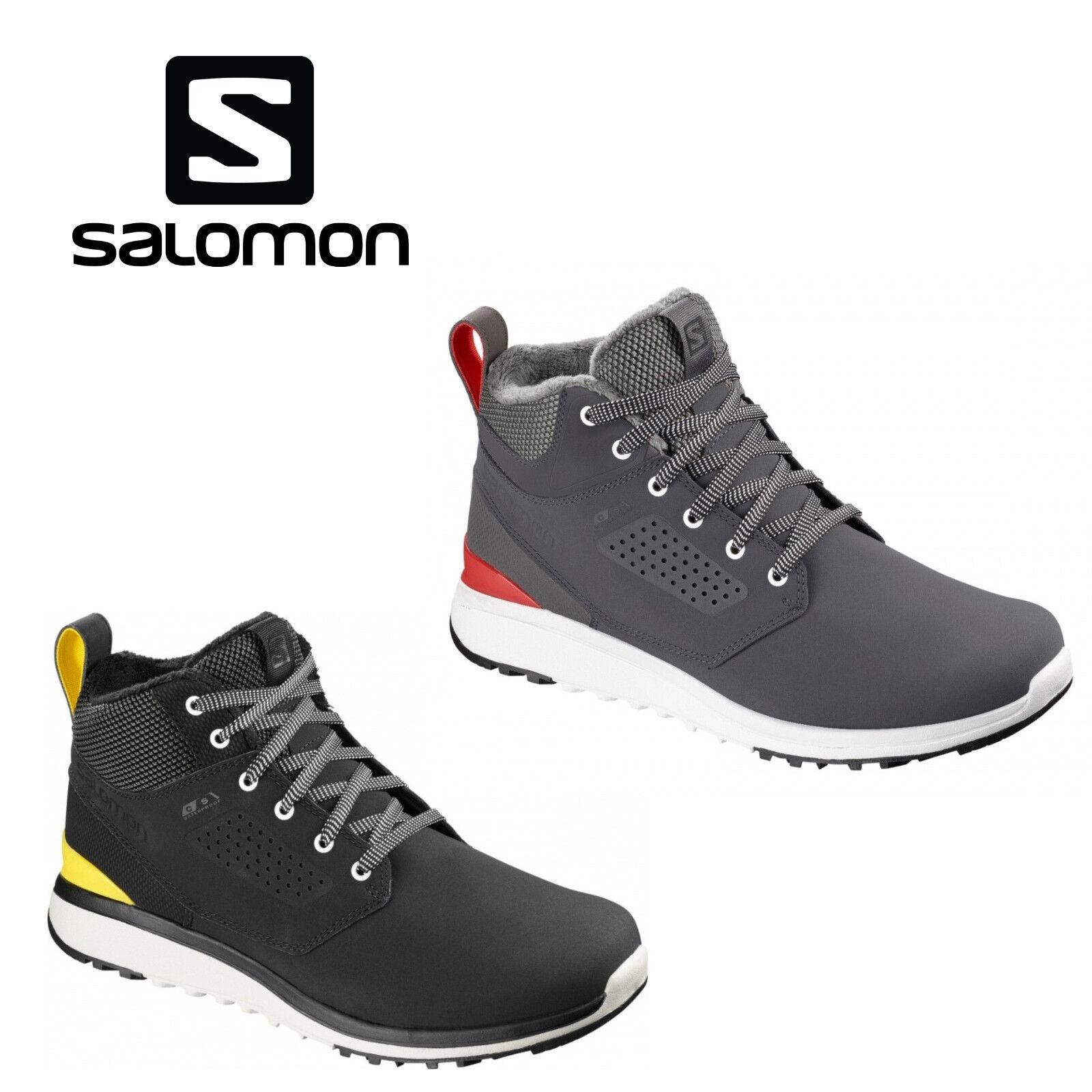SALOMON SALOMON SALOMON Utility Freeze CS WP Winterschuhe Wanderschuhe Schwarz / Grau 18/19 df031f