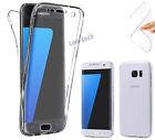 Cover Slim 360° Fronte Retro Custodia TPU Trasparente per Samsung Galaxy S7 Edge