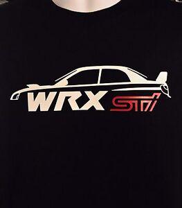 Subaru Wrx Sti Silhouette Impreza Jdm Drift Racing Turbo Subie Car T