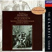 Beethoven: Egmont, Szell, Vienna Po, Lorengar, Very Good Import