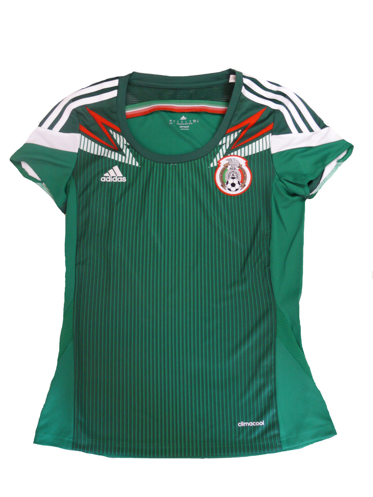 Adidas Mujer México Jersey Verde TALLA S (36)