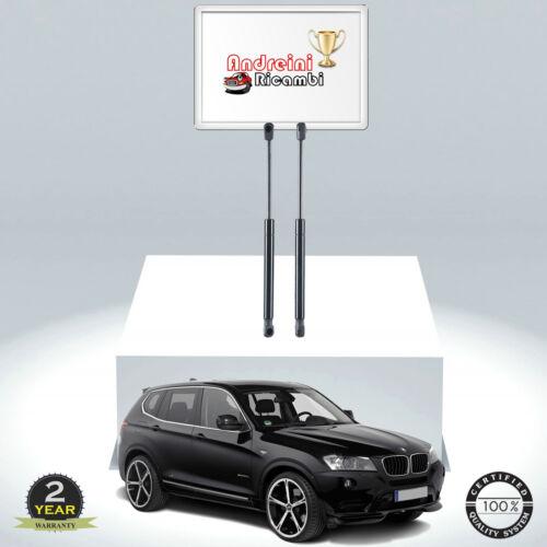 2 MOLLE A GAS BAGAGLIAIO BMW X3 F25 xDrive 20 i 135KW 184CV DAL 2017502780