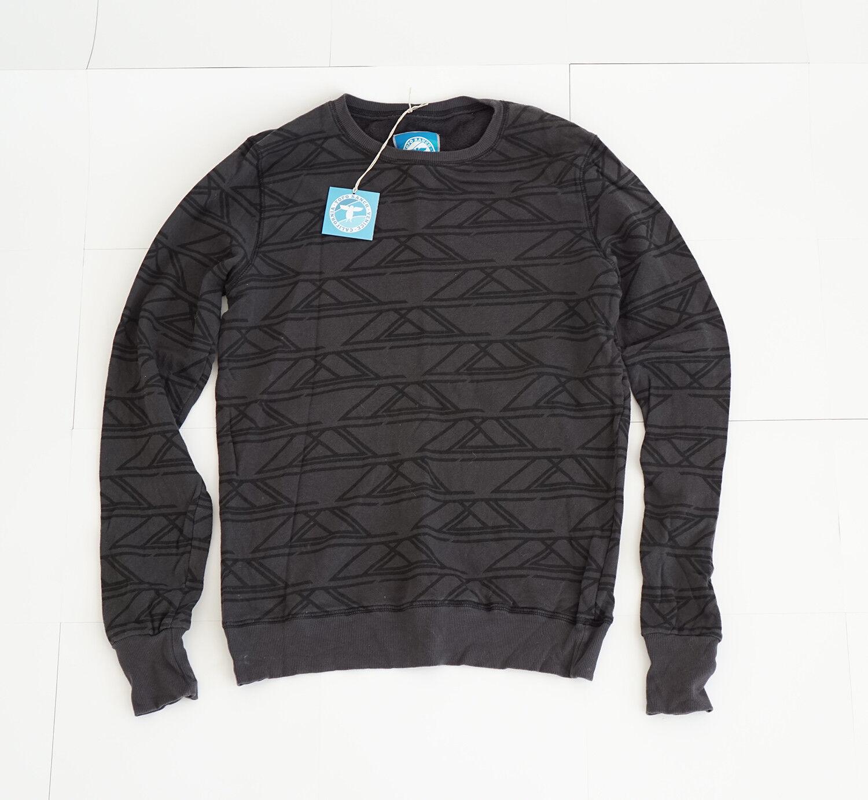 Topo Ranch California Venice Dark Grün Pattern Sweatshirt Long Sleeve Medium