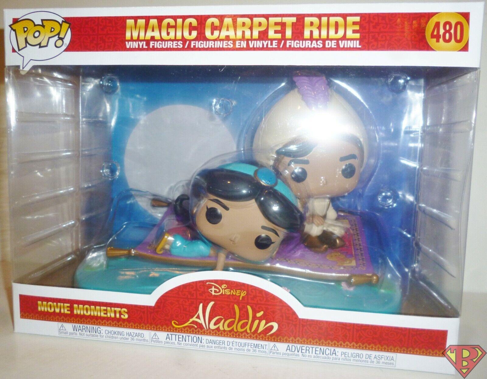 Figurine Funko Pop Movie Moment Disney Aladdin Magic Carpet Ride 2Pack
