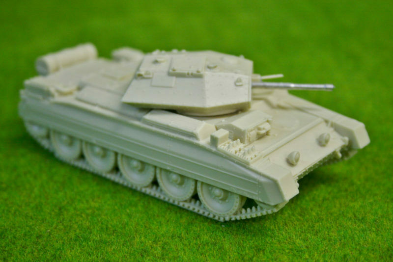 1 48scale-28mm WW2 CRUSADER Mk 3 Blitzkrieg miniatures