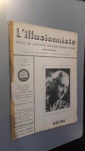 EL ILUSIONISTA Revista Dibujada N º 194 21è Annee 1ER Cuarto 1956 ABE