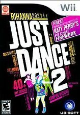 Just Dance 2 (Nintendo Wii, 2010) New in Plastic Rihanna Pussycat Dolls Toxic